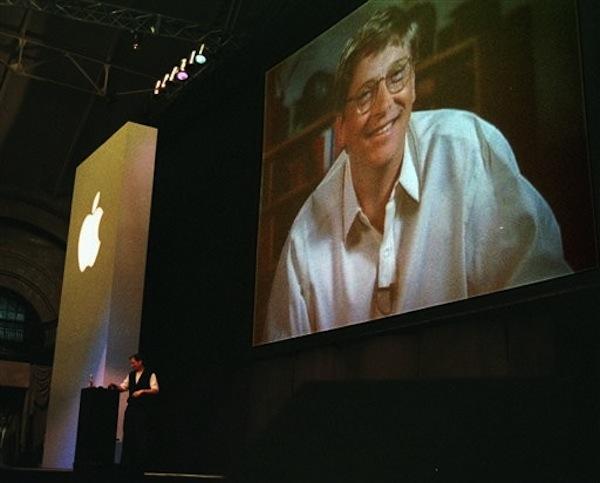 Steve Jobs & Bill Gates - MacWorld