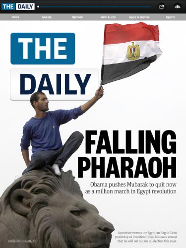 Tapa The Daily 1 - 2 de febrero de 2011