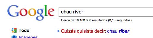 chau river en google