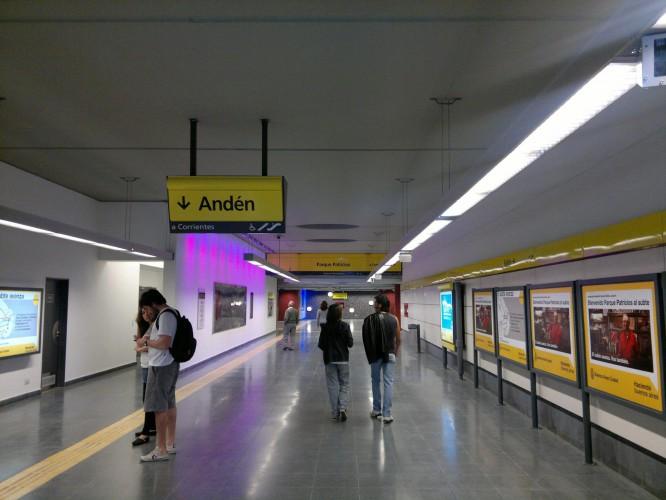 Estación Parque Patricios - Subte H