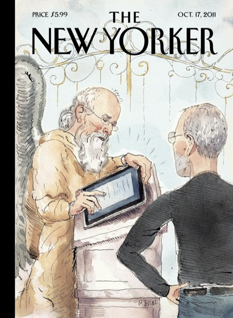 Steve Jobs in Heaven - The New Yorker