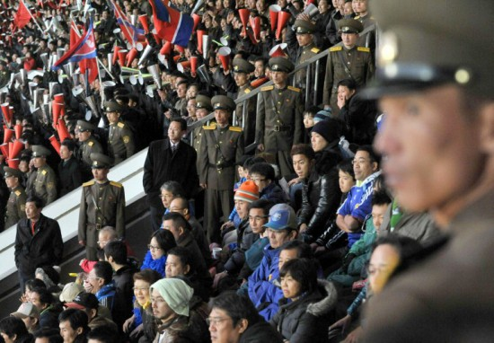 Japan Fans in North Korea