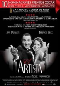 Poster The Artist - El Artista - Argentina