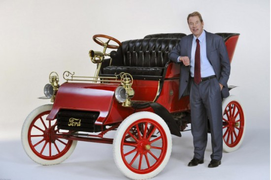 Bill Ford y el Ford Model A de 1903