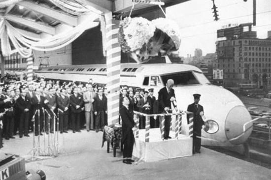 Inauguración del Tren Bala