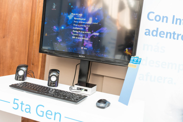 Intel Nuc con procesador Core i5 de 5ta gen