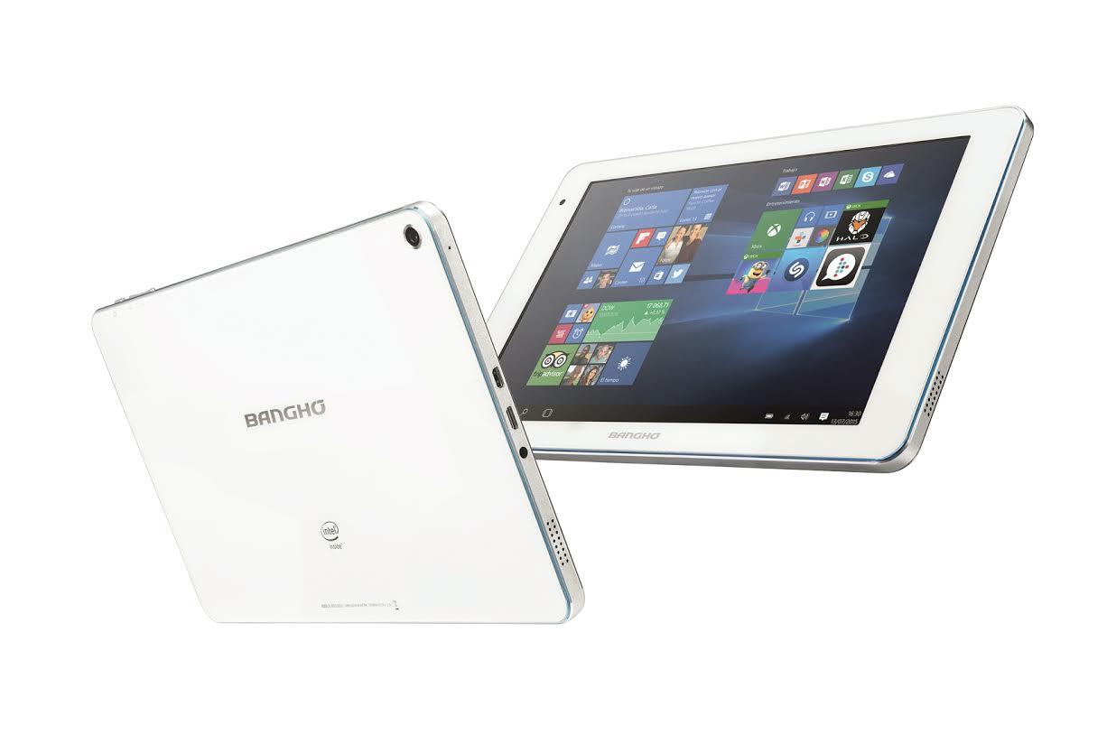 Banghó presentó la primera tablet con Windows 10 de la Argentina