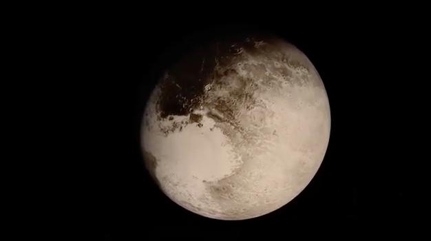 New Horizons: Animación completa del sobrevuelo sobre Plutón