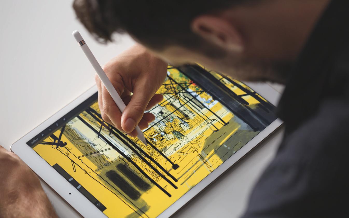 iPad Pro: la hora de producir