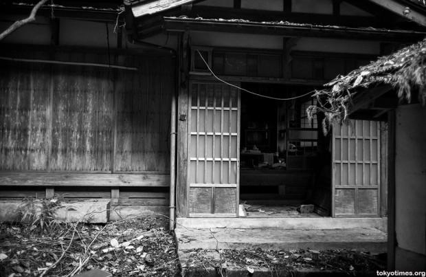 Casa abandonada en Japón