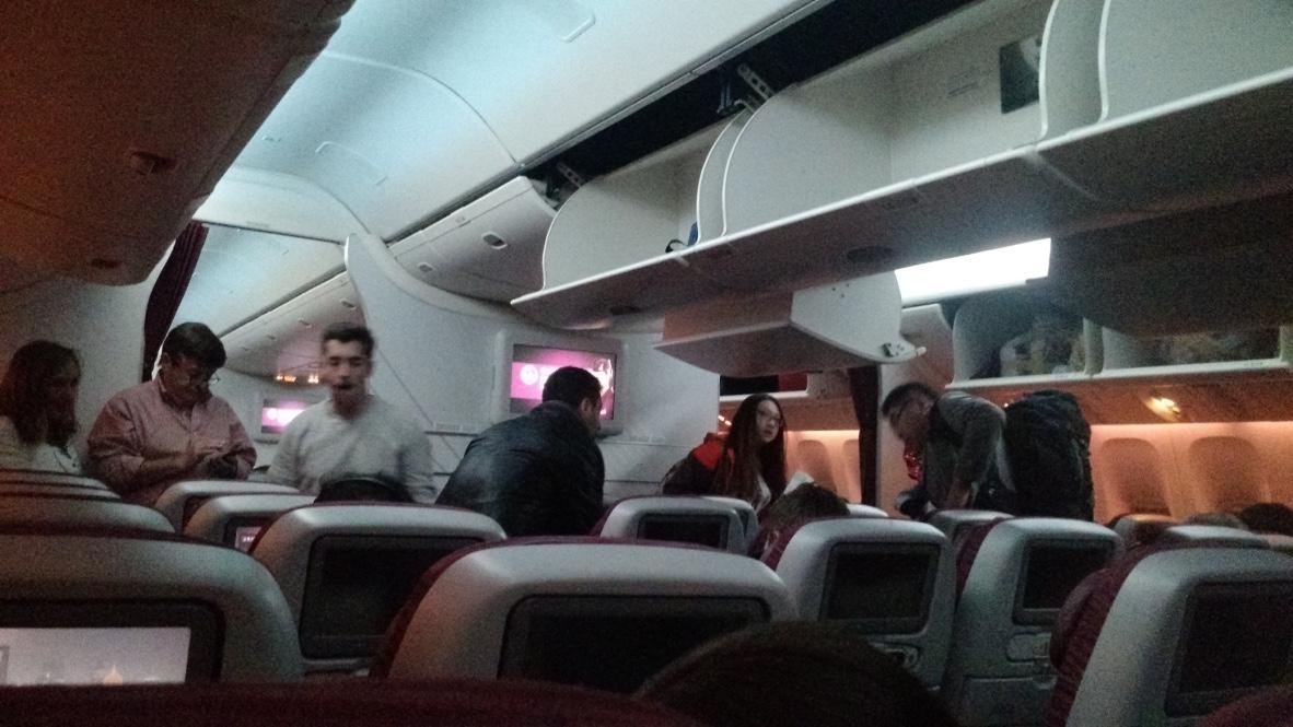 Experiencia de vuelo: Qatar Airways de Ezeiza a São Paulo