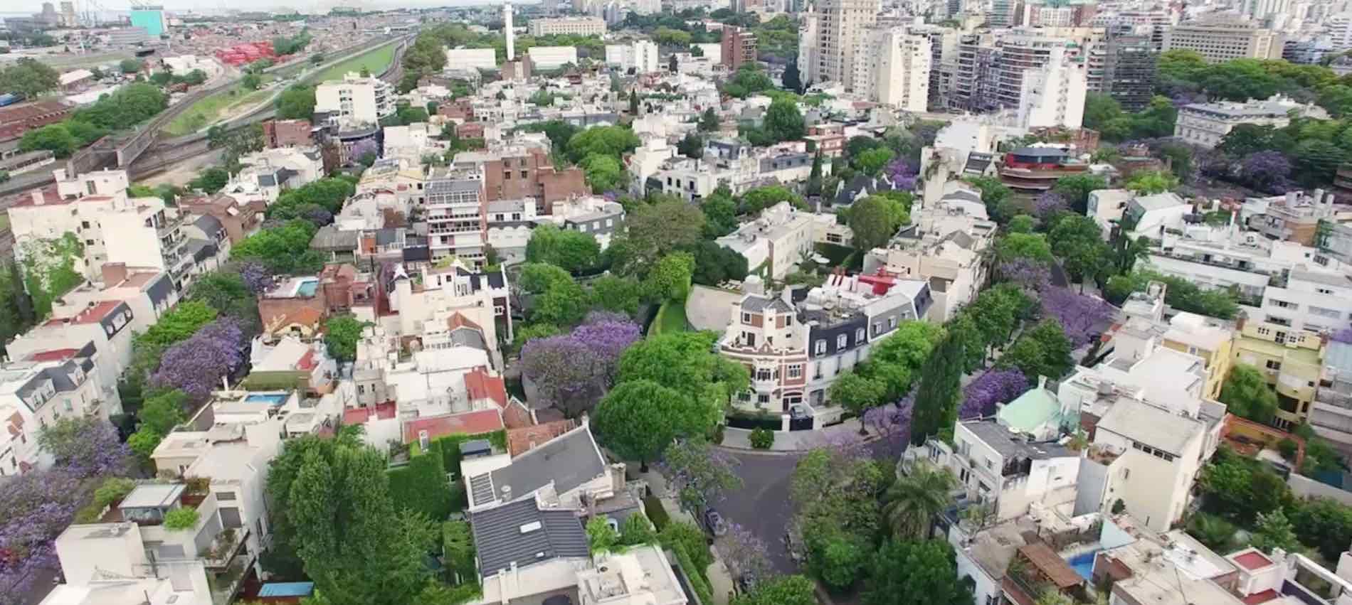 La belleza de Buenos Aires, desde un drone