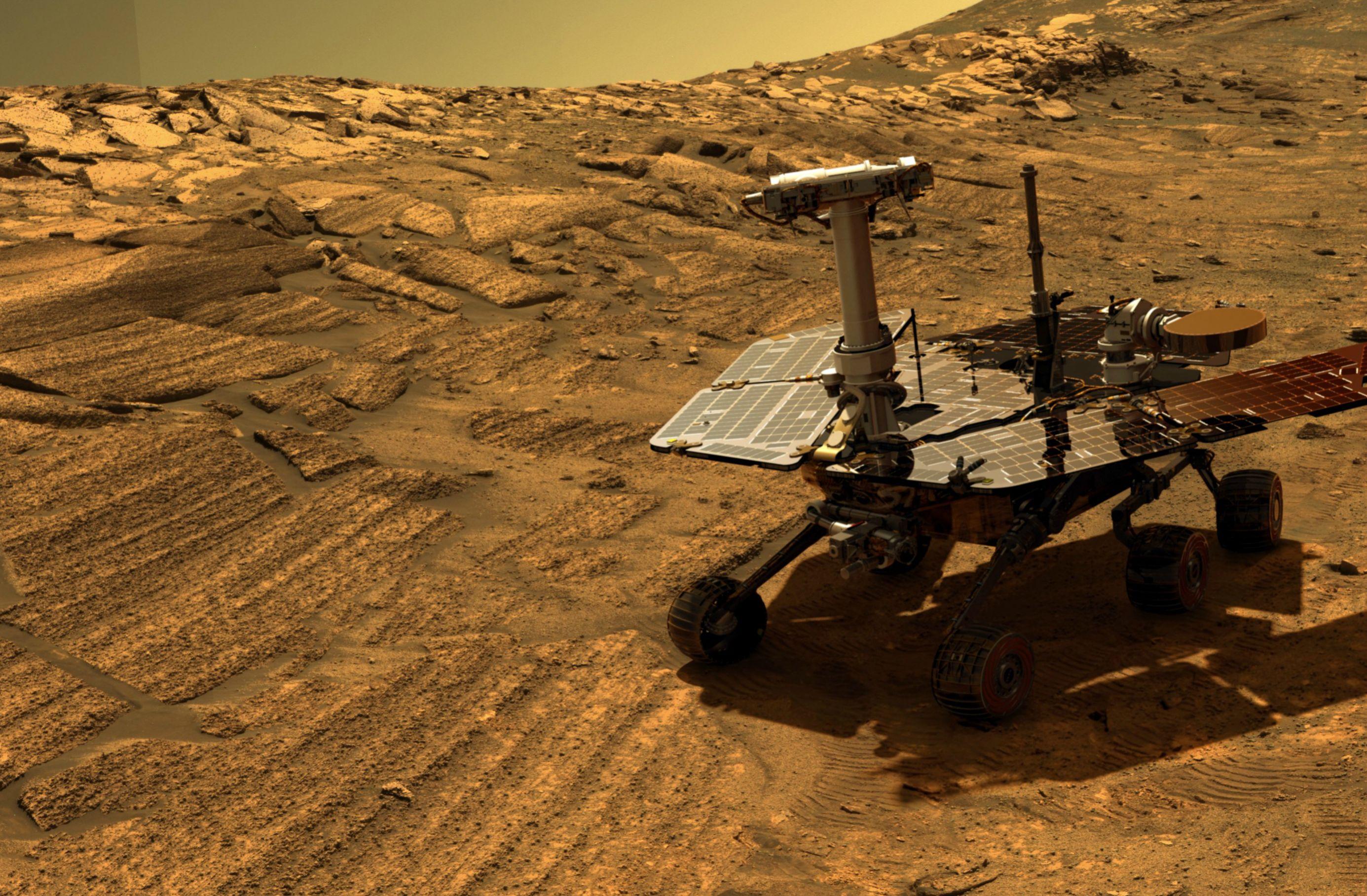 El Opportunity cumple 12 años de misión en Marte