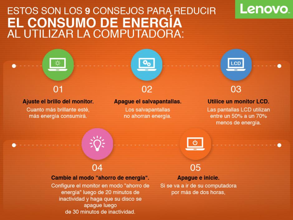 Consejos para ahorrar energía PC