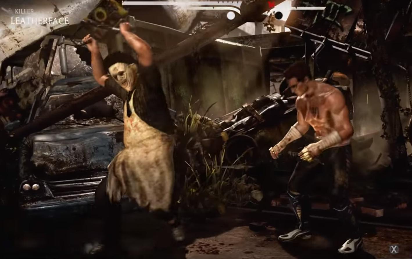 Las sangrientas fatalities de Leatherface y Alien en Mortal Kombat X