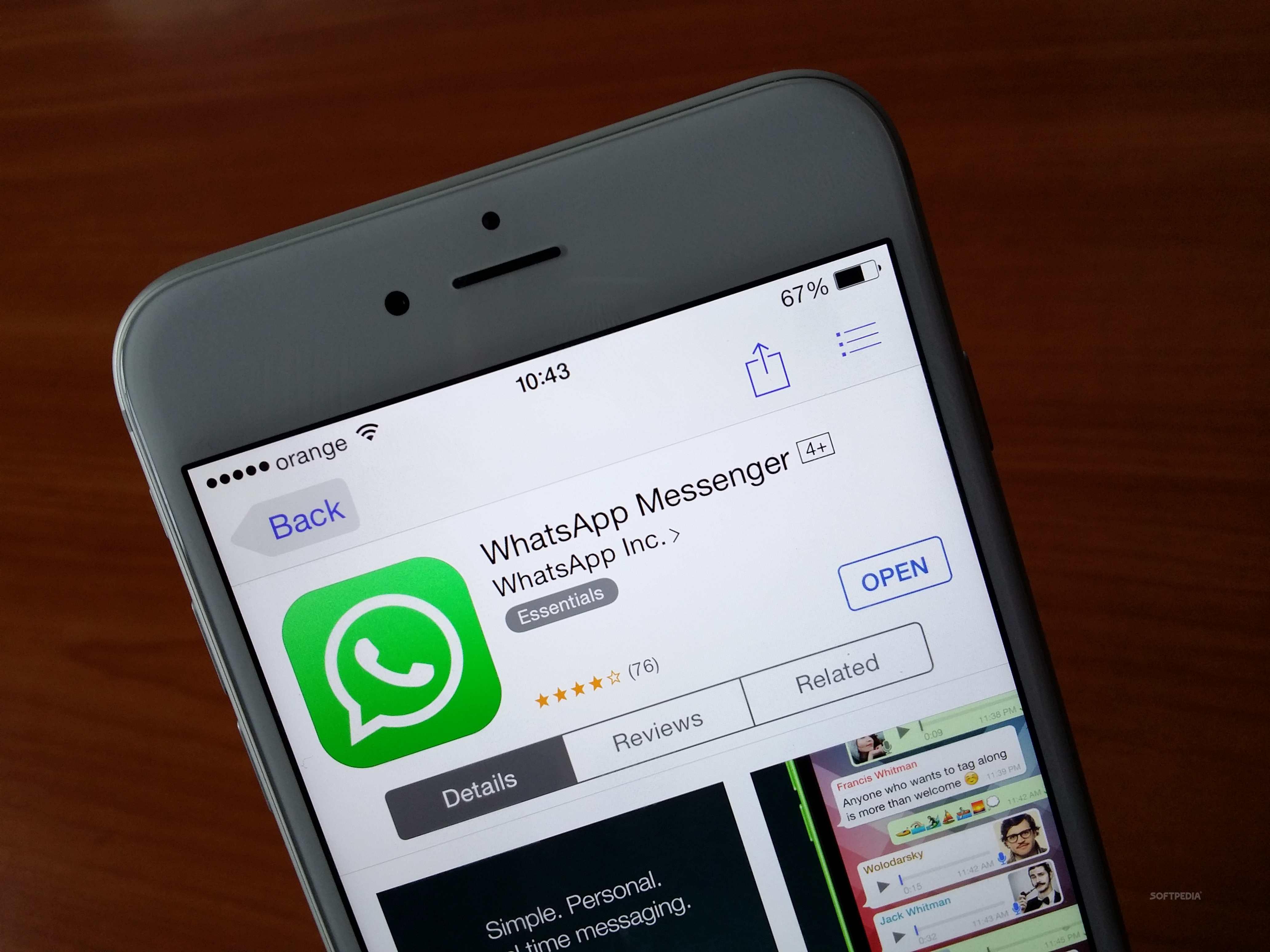 ¿Sin espacio en tu iPhone?: WhatsApp puede ser el culpable