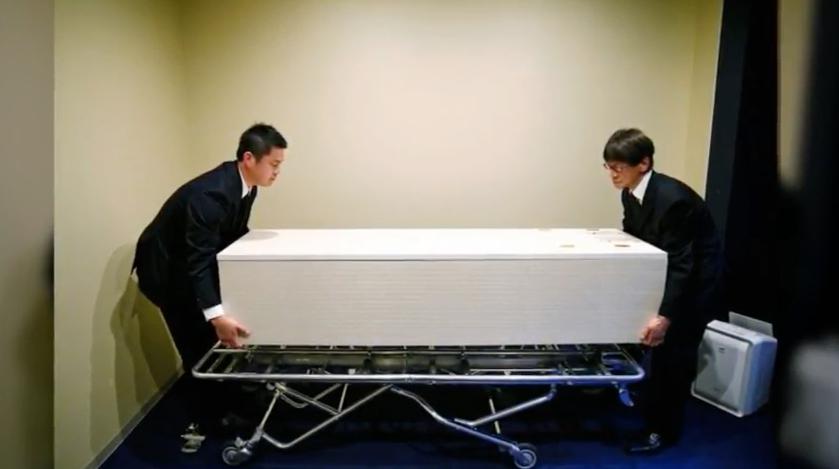 Un hotel para cadáveres genera rechazo y agradecimiento en Japón
