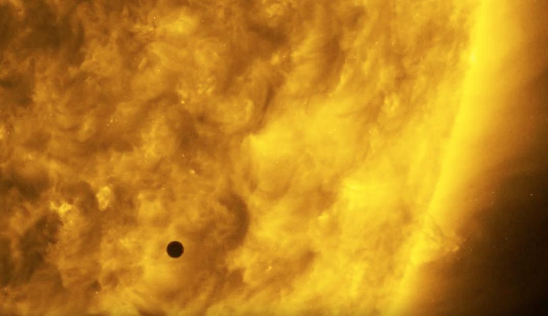 El tránsito de Mercurio frente al Sol, en un espectacular video de la NASA