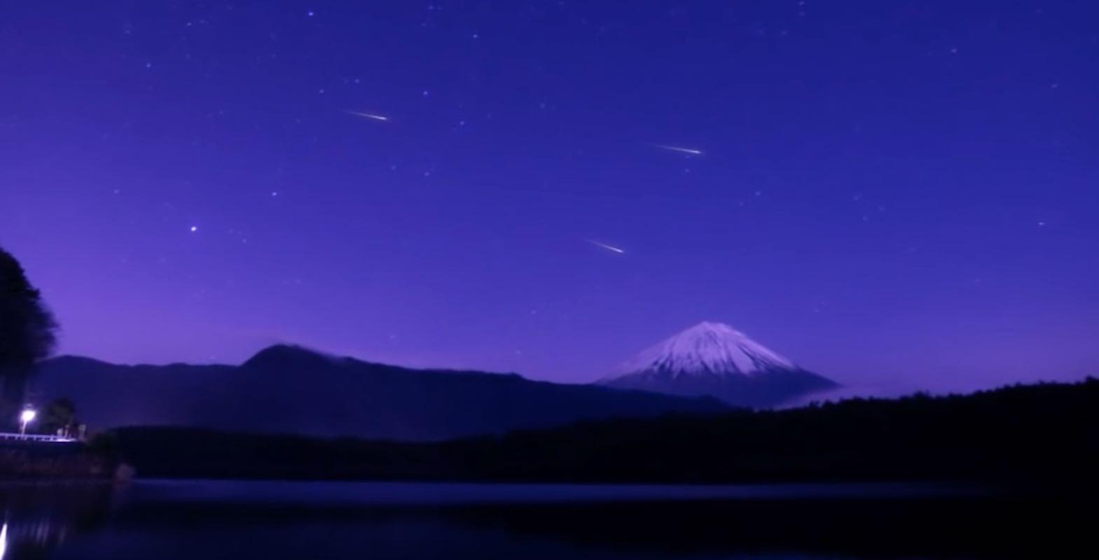 Los fuegos artificiales ya fueron: se viene la lluvia artificial de meteoritos