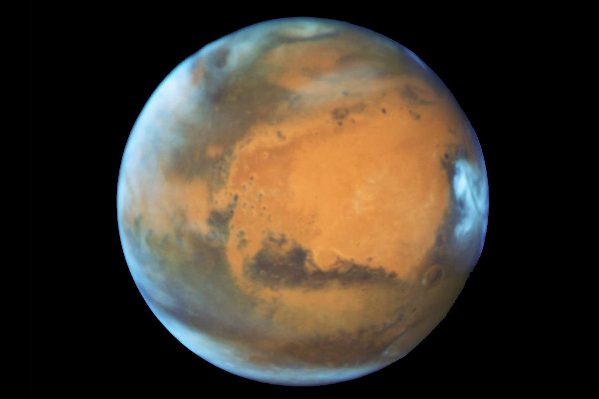Semana para ver a Marte en su máximo esplendor