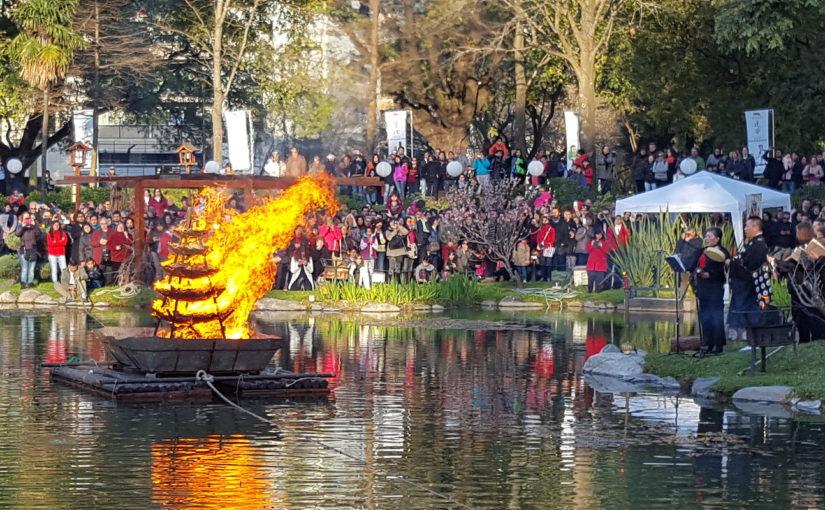Una tarde en el Jardín Japonés para quemar todo lo negativo