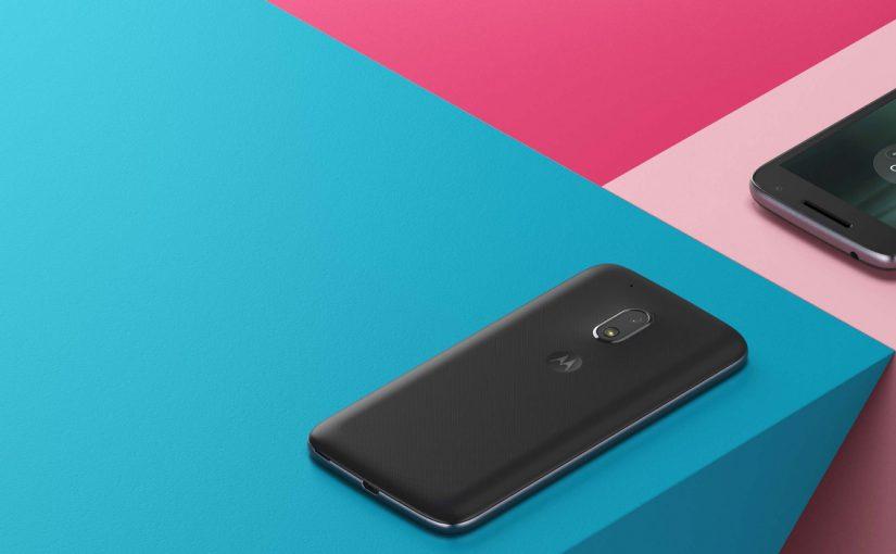 Unboxing y primer contacto con el Moto G4 Play